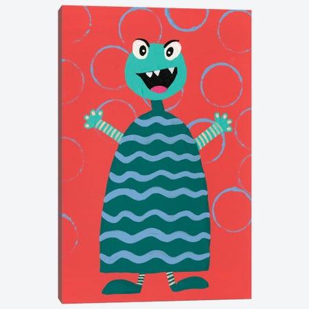 Happy Creatures VIII Canvas Print #REG389} by Regina Moore Canvas Art Print