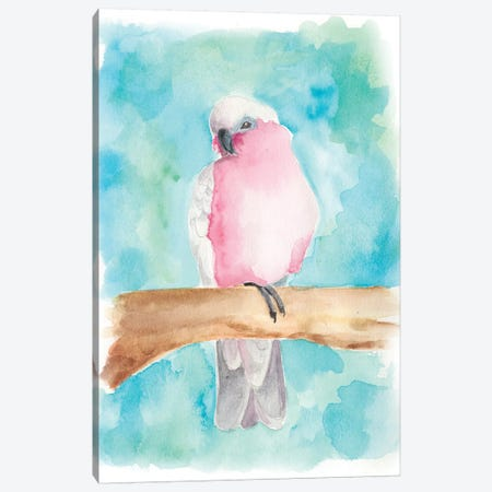 Sweet Tropical Bird III Canvas Print #REG38} by Regina Moore Canvas Art Print