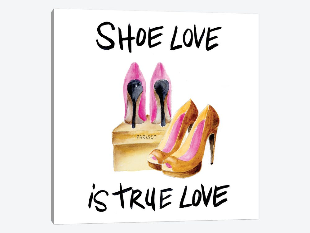 If the Shoe Fits I by Regina Moore 1-piece Canvas Artwork