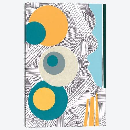 Lines and Shapes I Canvas Print #REG392} by Regina Moore Canvas Wall Art
