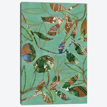 Nature on Sage II Canvas Print #REG396} by Regina Moore Art Print