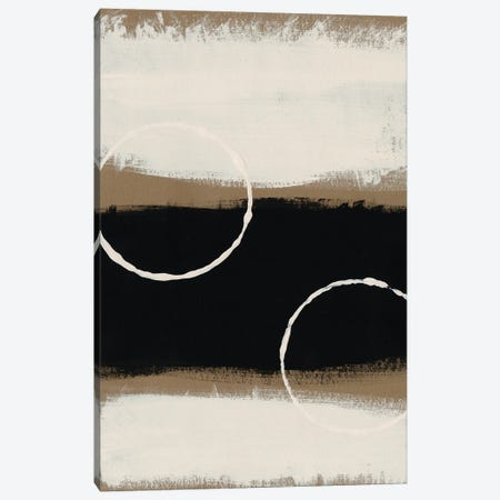 Neutral Rings I Canvas Print #REG397} by Regina Moore Canvas Print