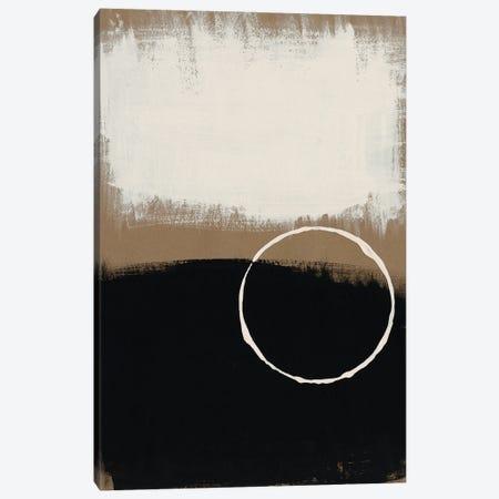 Neutral Rings II Canvas Print #REG398} by Regina Moore Canvas Art
