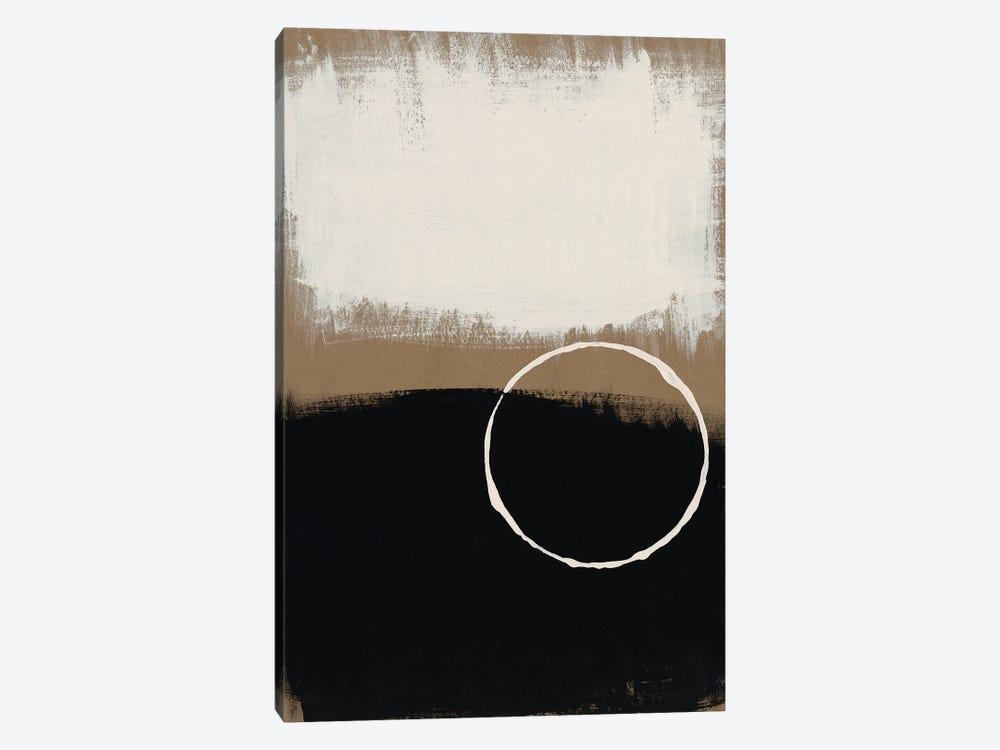 Neutral Rings II by Regina Moore 1-piece Canvas Art
