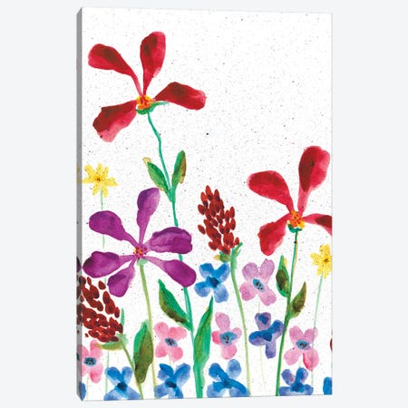Vivid Whimsy I Canvas Print #REG39} by Regina Moore Art Print