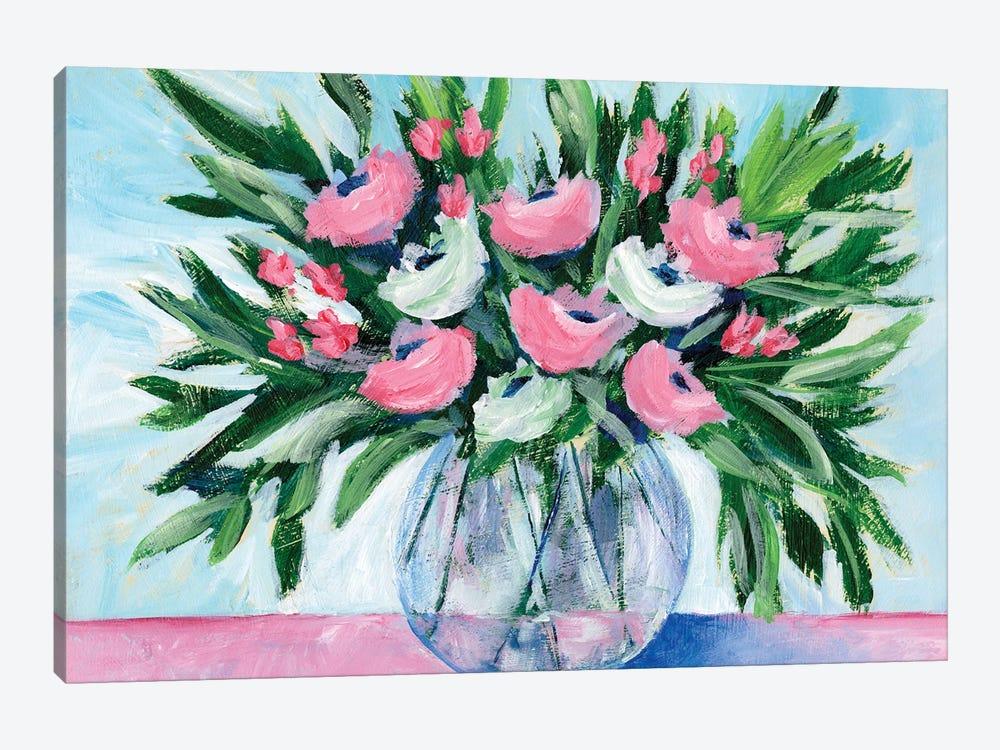 Rosy Bouquet I by Regina Moore 1-piece Canvas Art Print