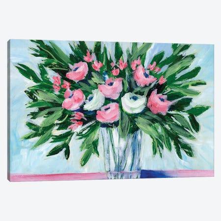 Rosy Bouquet II Canvas Print #REG402} by Regina Moore Canvas Artwork