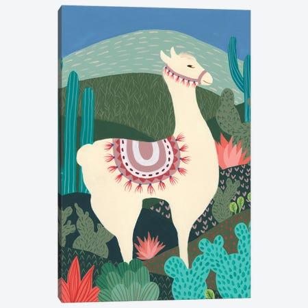 Desert Llama I Canvas Print #REG408} by Regina Moore Canvas Art
