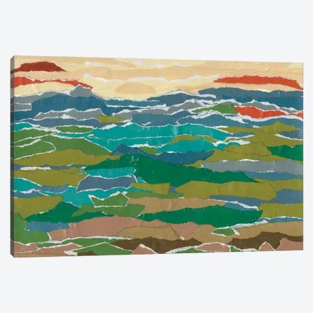 Stratified Landscape I Canvas Print #REG412} by Regina Moore Art Print