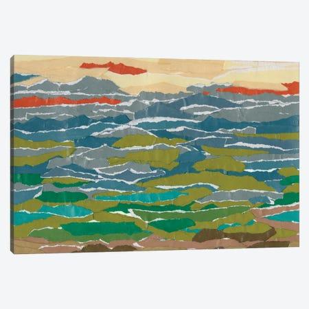 Stratified Landscape II Canvas Print #REG413} by Regina Moore Canvas Print
