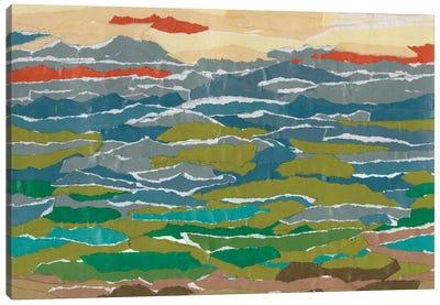 Stratified Landscape II Canvas Art Print