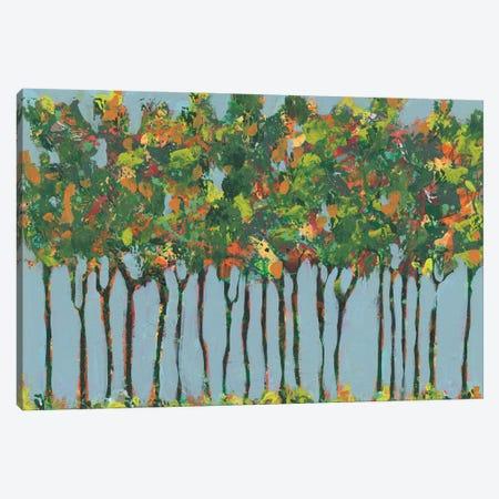 Sunset Trees I Canvas Print #REG414} by Regina Moore Canvas Wall Art