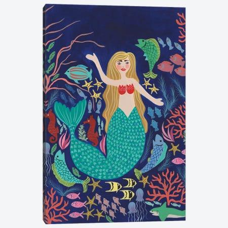 Water Queen I Canvas Print #REG416} by Regina Moore Canvas Artwork