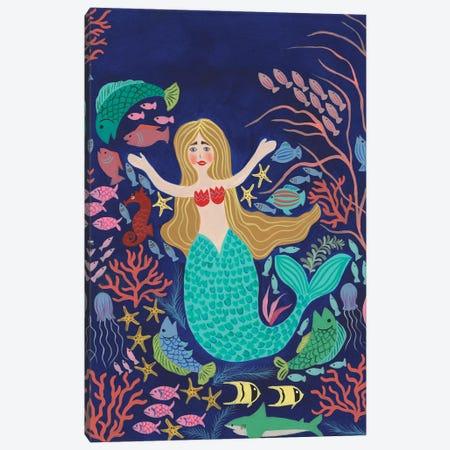 Water Queen II Canvas Print #REG417} by Regina Moore Canvas Wall Art