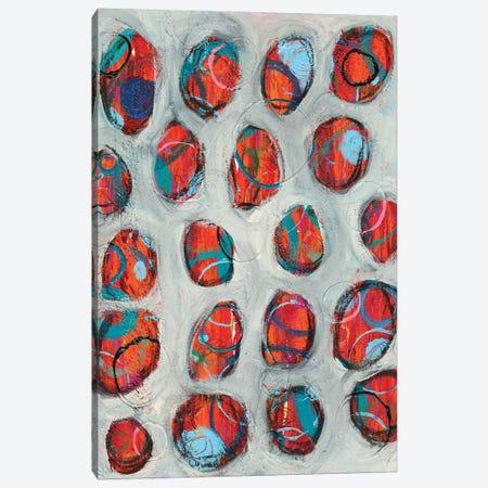 Abstract Circles I Canvas Print #REG418} by Regina Moore Canvas Print