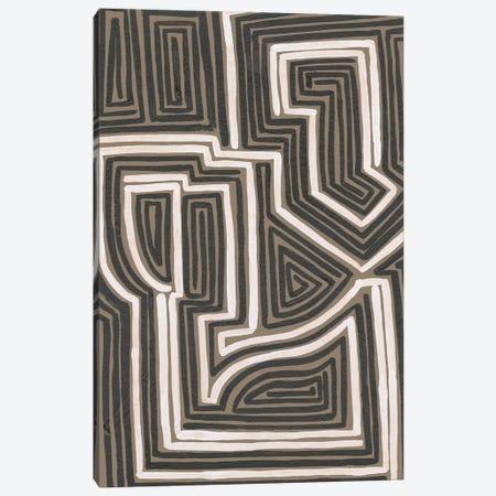 Abstract Maze I Canvas Print #REG420} by Regina Moore Canvas Art