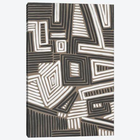 Abstract Maze II Canvas Print #REG421} by Regina Moore Canvas Artwork