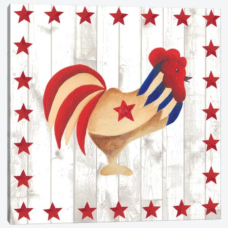 Americana Animals II Canvas Print #REG42} by Regina Moore Canvas Artwork