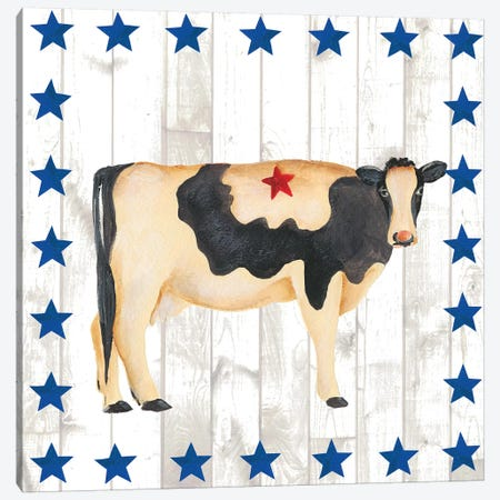 Americana Animals III 3-Piece Canvas #REG43} by Regina Moore Canvas Artwork