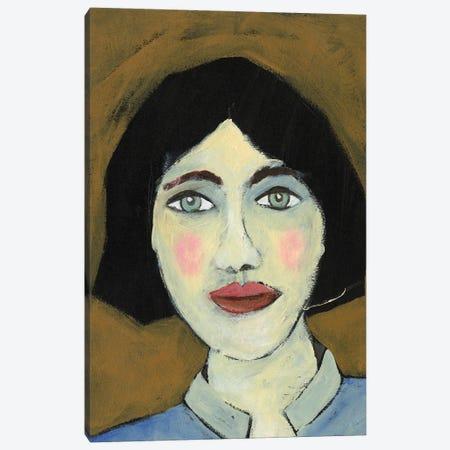 Green Eyed Girl II Canvas Print #REG443} by Regina Moore Canvas Wall Art