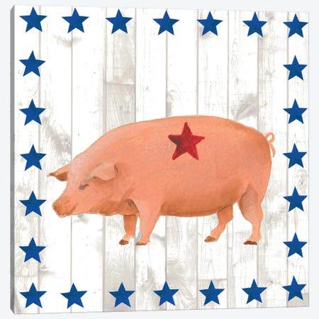 Americana Animals IV Canvas Print #REG44} by Regina Moore Canvas Art Print
