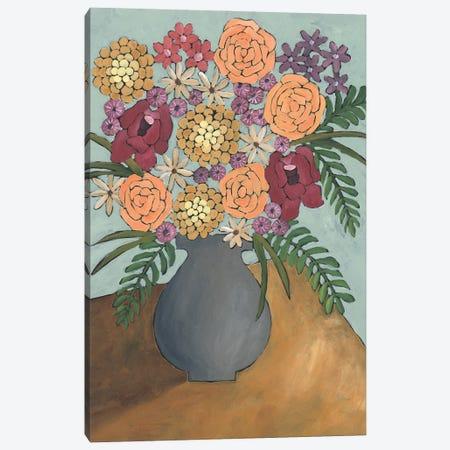 Table Arrangement II Canvas Print #REG452} by Regina Moore Canvas Print