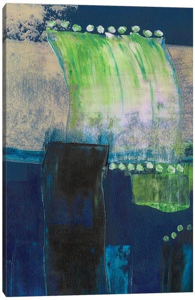Blue Composite II Canvas Art Print