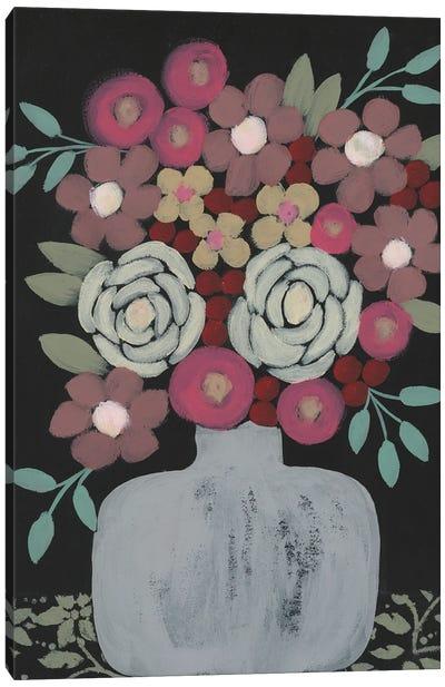 Bundle Of Flowers I Canvas Art Print