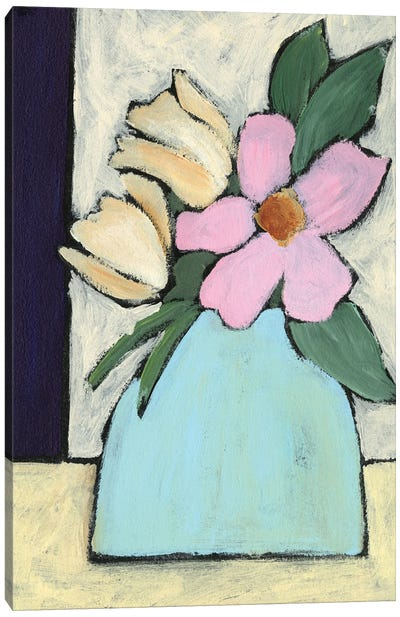 Distressed Bouquet I Canvas Art Print