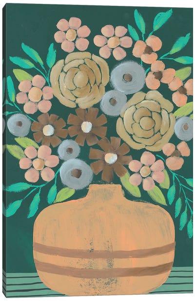 Flower Garden Bouquet III Canvas Art Print