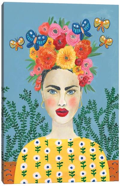 Frida Headdress I Canvas Art Print