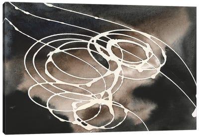 Midnight Swirl I Canvas Art Print