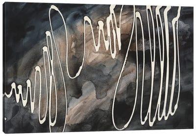 Midnight Swirl IV Canvas Art Print