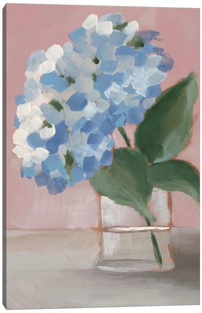 Single Hydrangea I Canvas Art Print