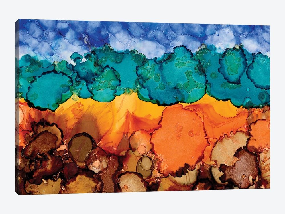 Autumn Terrain II by Regina Moore 1-piece Art Print