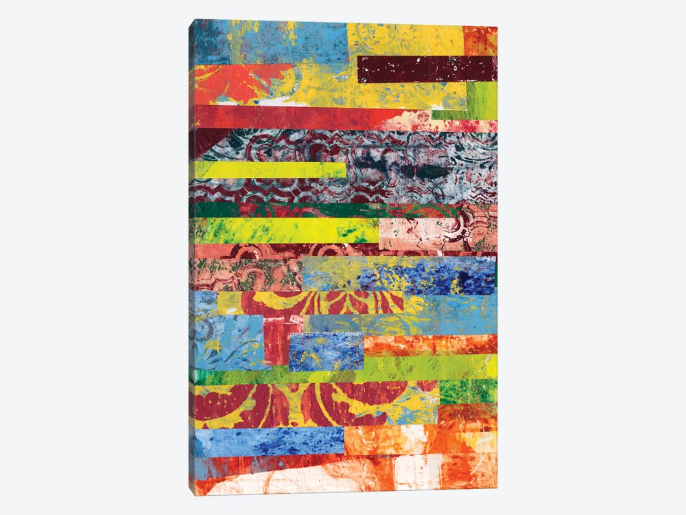 Monoprint Collage I by Regina Moore 1-piece Canvas Wall Art