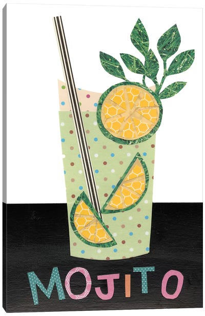 Mix Me A Drink I Canvas Art Print