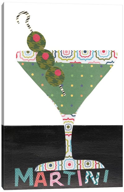 Mix Me A Drink II Canvas Art Print