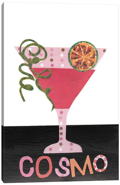 Mix Me A Drink III Canvas Art Print