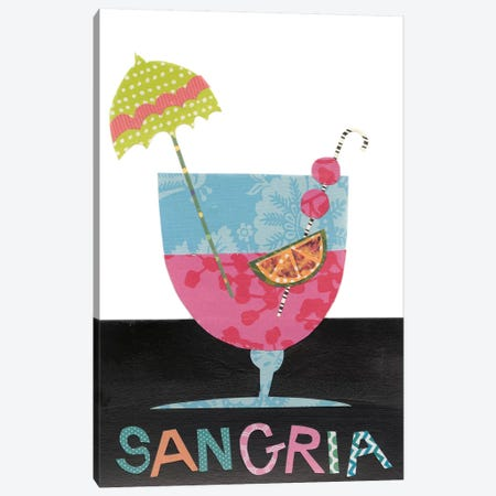 Mix Me A Drink V Canvas Print #REG56} by Regina Moore Canvas Wall Art