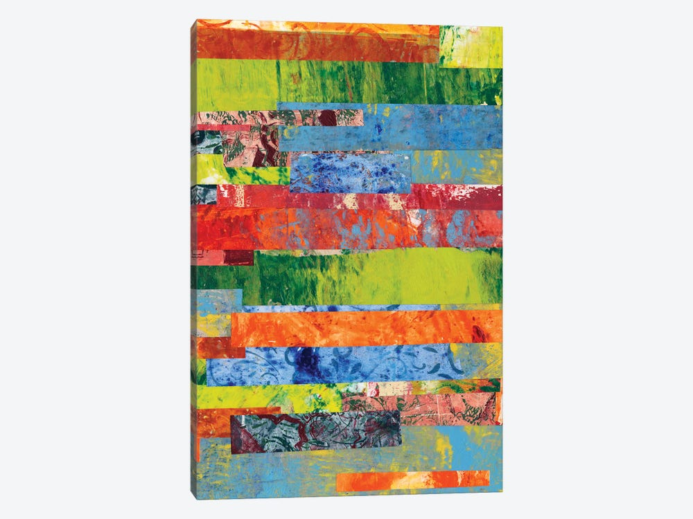Monoprint Collage II by Regina Moore 1-piece Canvas Print