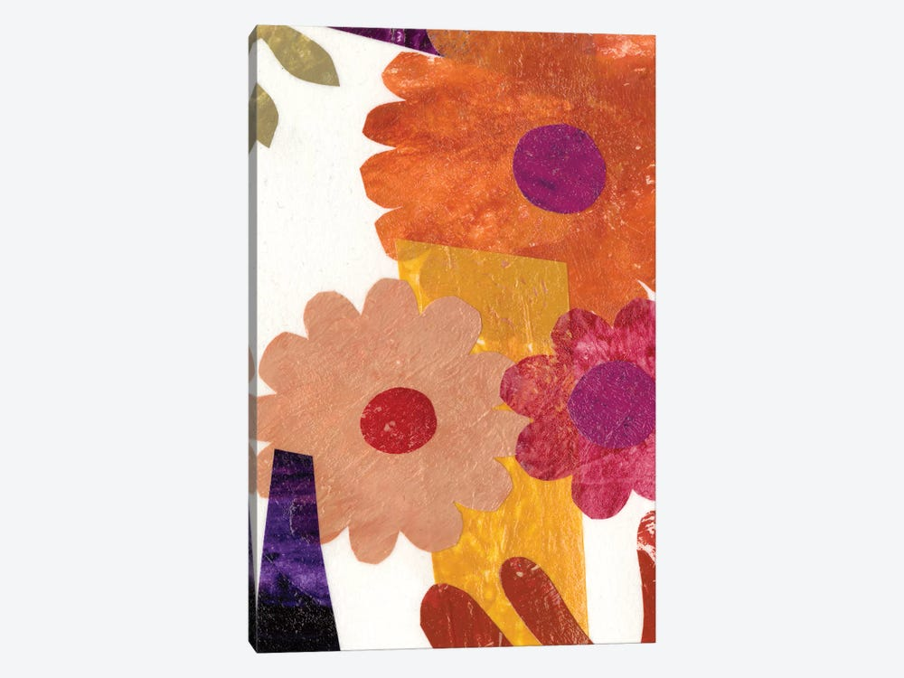 Fiesta Floral I by Regina Moore 1-piece Canvas Art