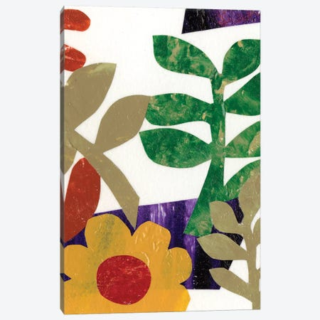 Fiesta Floral II Canvas Print #REG69} by Regina Moore Canvas Artwork