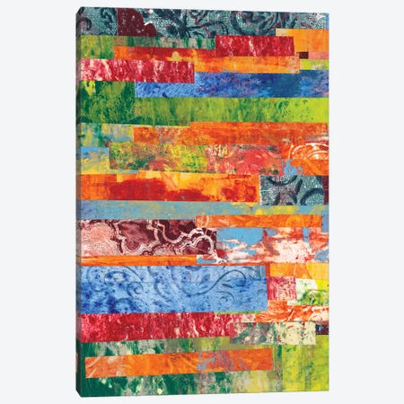 Monoprint Collage III Canvas Print #REG6} by Regina Moore Canvas Artwork