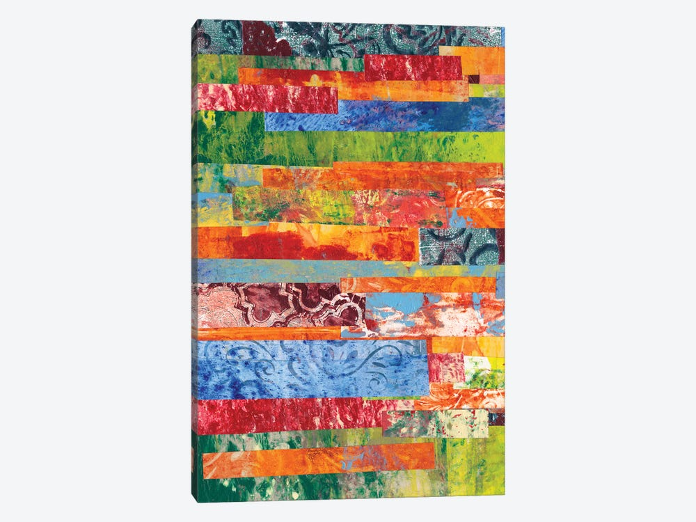 Monoprint Collage III by Regina Moore 1-piece Canvas Art