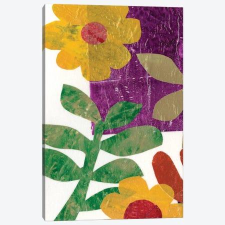 Fiesta Floral III Canvas Print #REG70} by Regina Moore Art Print