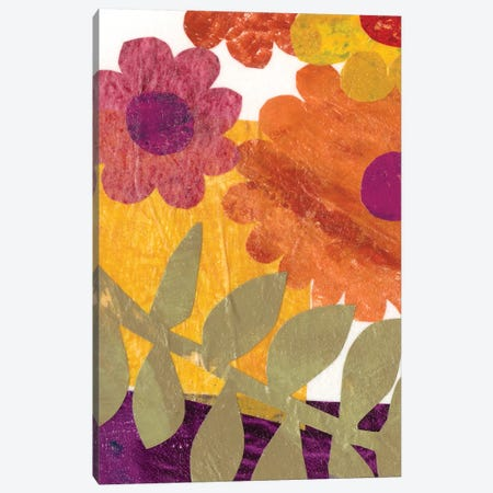 Fiesta Floral IV Canvas Print #REG71} by Regina Moore Canvas Art Print