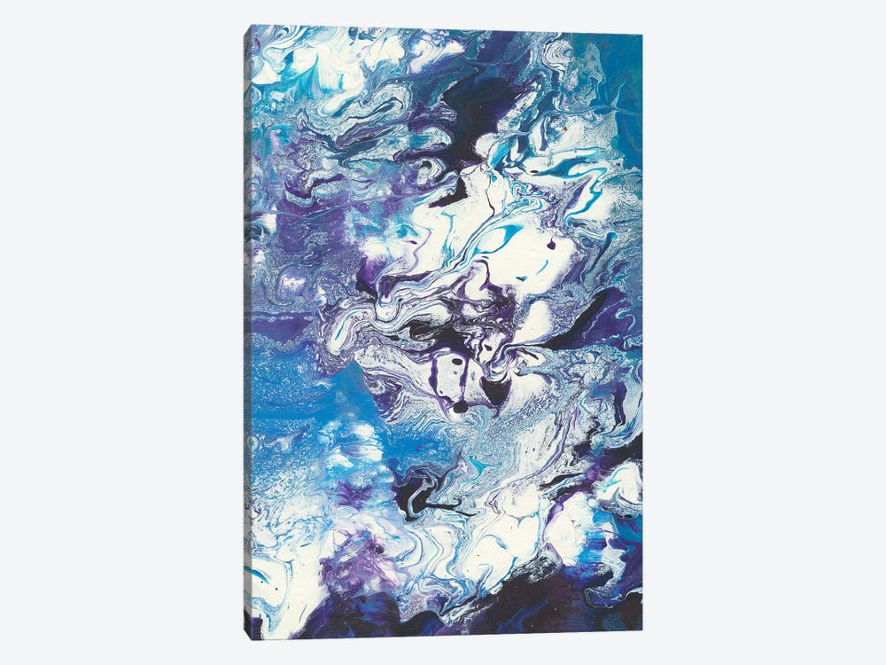 Meandering Mulberry II 1-piece Canvas Artwork