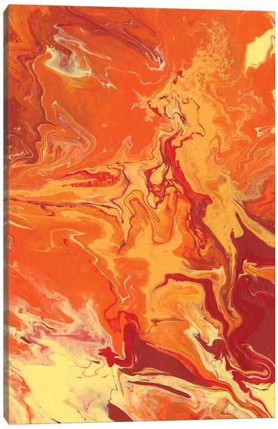 Nomadic Blaze III Canvas Art Print