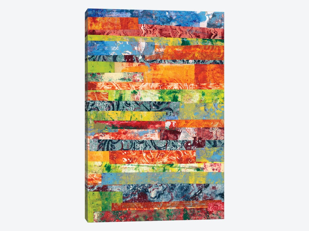 Monoprint Collage IV 1-piece Canvas Art Print